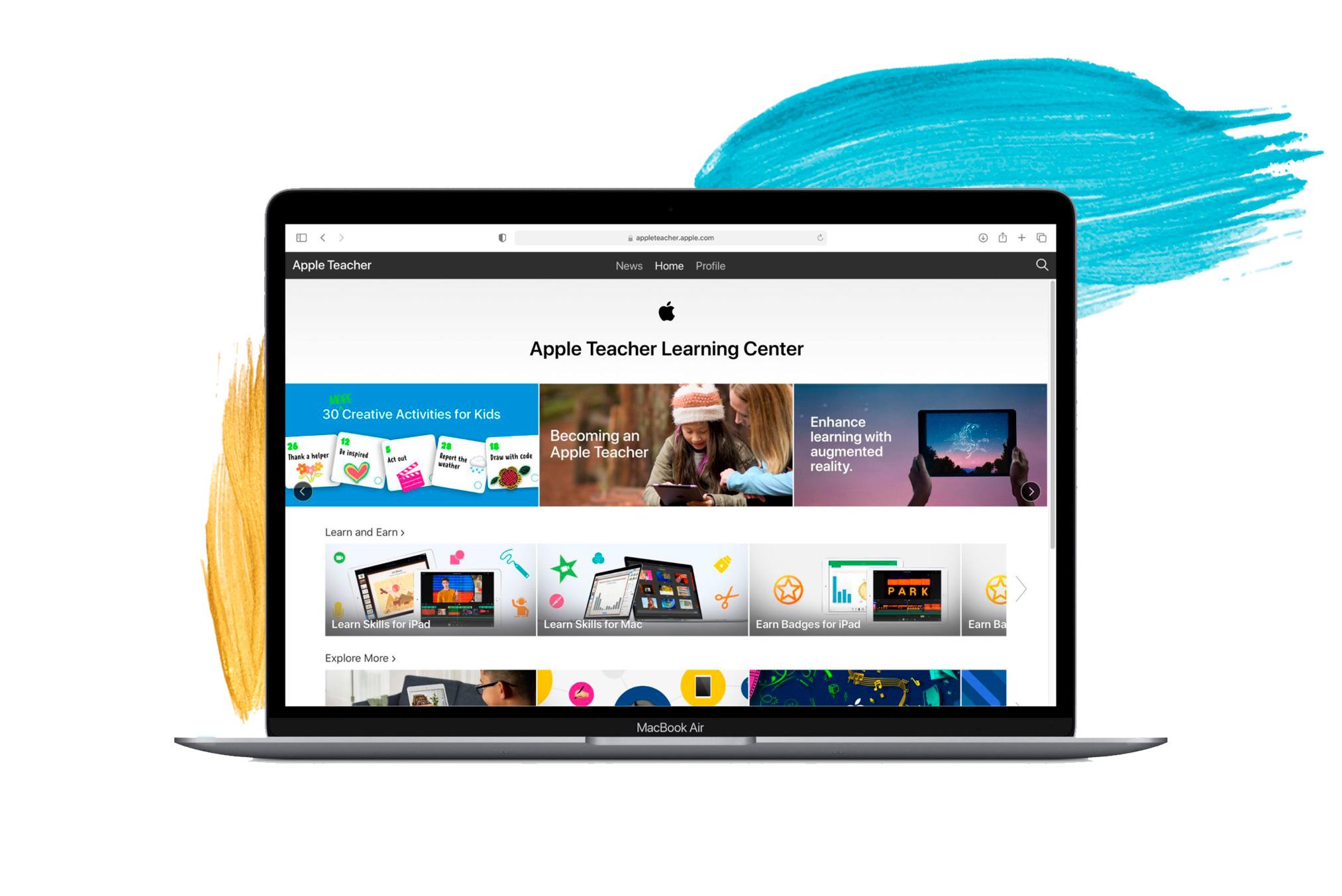Webinars Apple pel futur de l'excel·lència en la educació