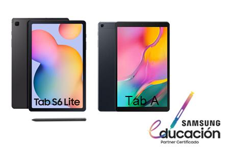 Consigue la Samsung Galaxy Tab S6 Lite o la Tab A al mejor precio para tus profes y estudiantes